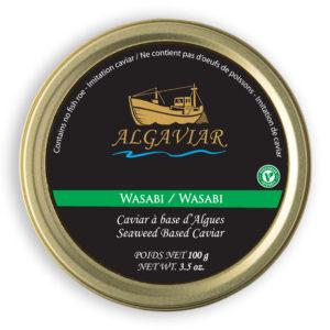 Algaviar Wasabi Lid