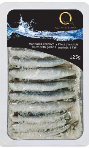 Q marinated anchovy fillets garlic