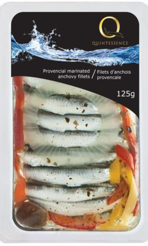 Q marinated anchovy fillets provencial