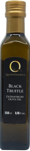 Black truffle extravirgin olive oil