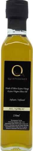 Extra virgin olive oil garlic