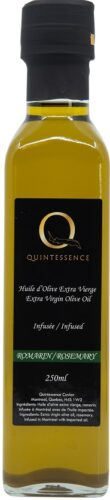 Extra virgin olive oil rosemary