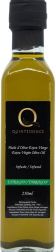 Extra virgin olive oil tarragon