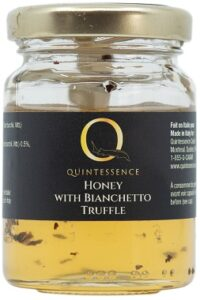 Honney with Bianchetto truffle
