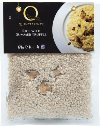 Rice with summer truffle