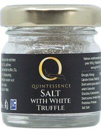 Salt with white truffle