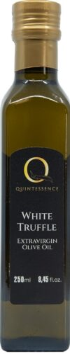 White truffle extravirgin olive oil